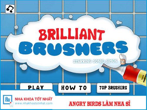 Angry Birds Làm Nha Sĩ