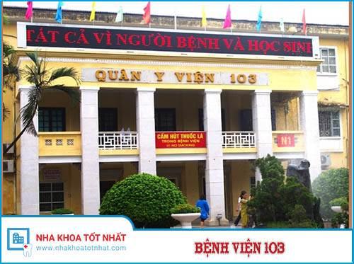 Bệnh Viện 103 - 261 Phùng Hưng, Phúc La, Hà Đông, Hà Nội