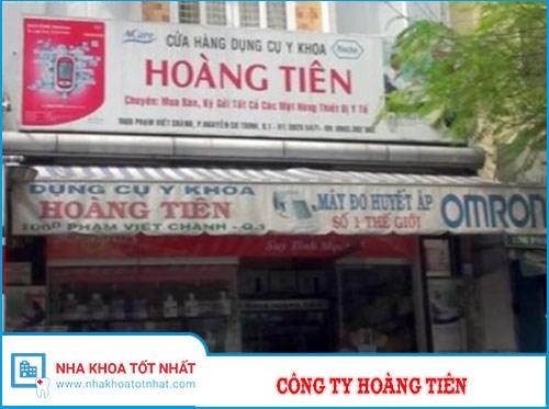 Công Ty Hoàng Tiên - 06B Phạm Viết Chánh - P. Nguyễn Cư Trinh - Q.1