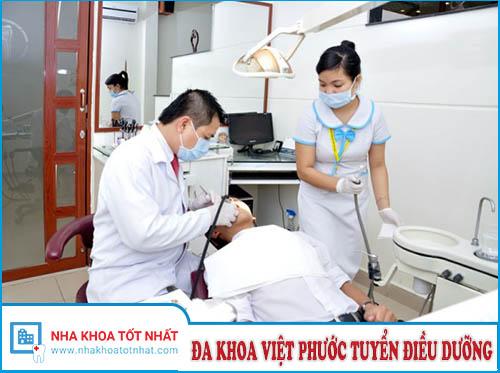 Phòng khám Đa khoa Việt Phước Tuyển Điều Dưỡng