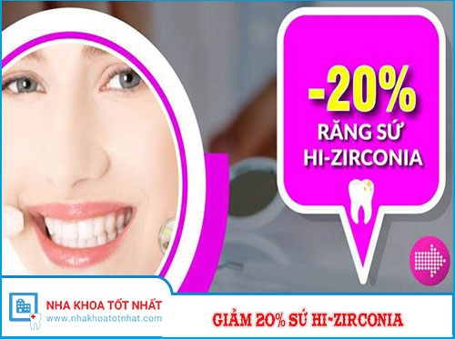 Nha Khoa Đông Nam Giảm 20% Chi Phí Răng Sứ Cao Cấp HI-Zirconia Nhân Dịp 30/4 Và 1/5