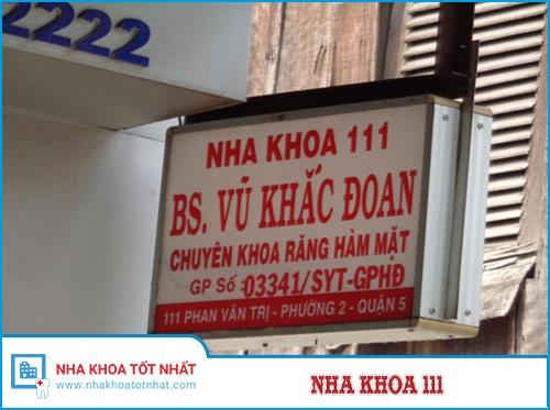 Nha khoa 111 Số 111 Phan Văn Trị , Phường 2, Quận 5