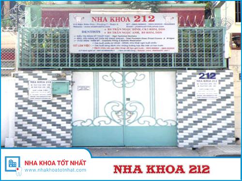 Nha khoa 212 -số 212 Điện Biên Phủ, Phường 7, Quận 3, TP.Hồ Chí Minh