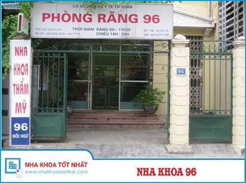 Nha Khoa 96 Số 96 Đốc Ngữ, Ba Đình, Hà Nội