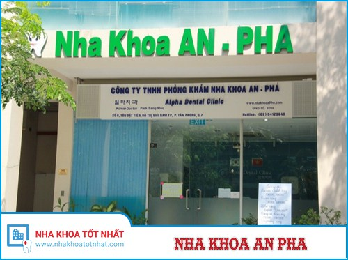 Nha Khoa An-Pha - Số 6, Tôn Dật Tiên, Tân Phong, Quận 7, Hồ Chí Minh