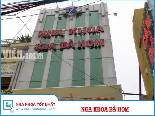 Nha khoa Bà Hom - 83A Bà Hom, Phường 13 , Quận 6