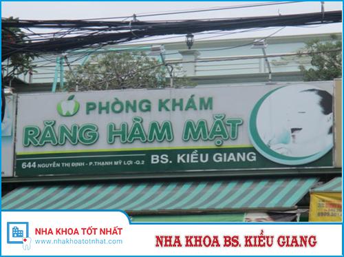 Nha Khoa Bs. Kiều Giang - 644 Nguyễn Thị Định, P. Thạnh Mỹ Lợi , Q. 2