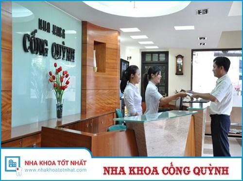 Nha khoa Cống Quỳnh - 256 - Cống Quỳnh, Quận 1, TP Hồ Chí Minh.