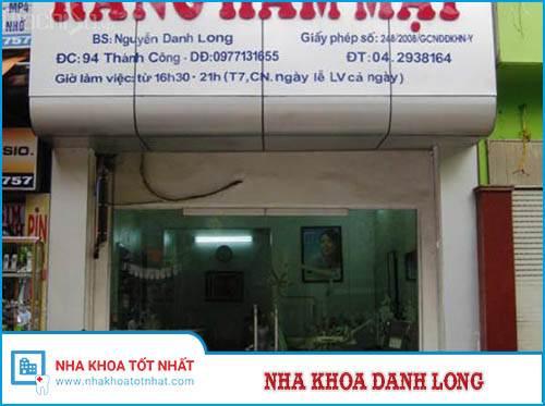 Nha Khoa Danh Long - 94 Thành Công, P. Thành Công, Q. Ba Đình
