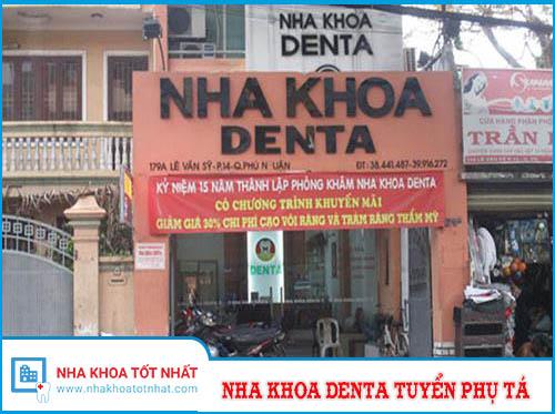 Nha Khoa Denta Tuyển Bác Sĩ, Phụ Tá
