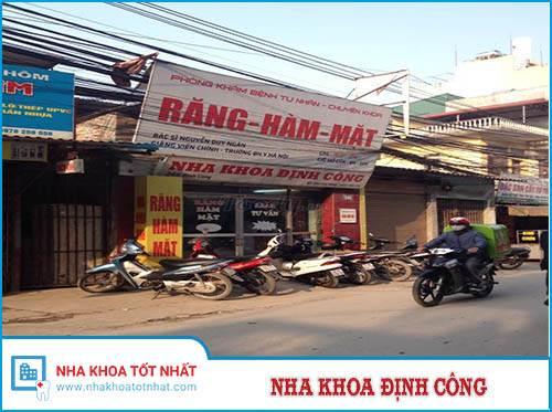 Nha khoa Định Công - 246 Định Công, Hoàng Mai, Hà Nội