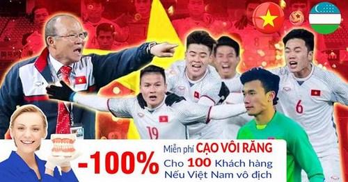 Khuyến Mãi Đồng Loạt Nhân Dịp U23 Việt Nam Vào Chung Kết