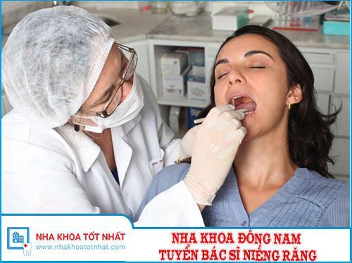 Nha Khoa Đông Nam Tuyển Bác Sĩ Niềng Răng