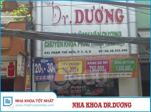 Nha khoa Dr Dương -  441 Phạm Thế Hiển , Phường 3, Quận 8