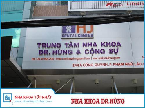 Nha Khoa Dr Hùng - 244A Cống Quỳnh, Quận 1, TP.Hồ Chí Minh