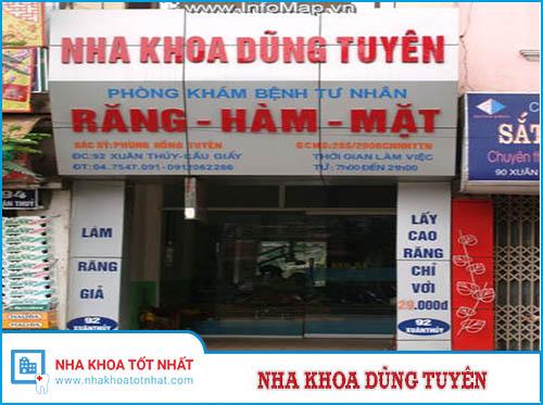 Nha khoa Dũng Tuyên - 92 Xuân Thủy, Cầu Giấy, Hà Nội