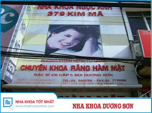 Nha Khoa Bùi Dương Sơn - 379 Kim Mã, Ba Đình