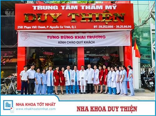 Nha Khoa Duy Thiện - 25B Phạm Viết Chánh, P. Nguyễn Cư Trinh, Q. 1