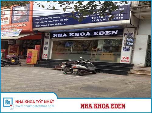 Nha khoa Eden - 74 Đào Tấn, P. Cống Vị, Q. Ba Đình, Hà Nội