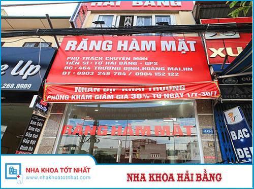 Nha Khoa Hải Bằng - 464 Trương Định, Hoàng Mai, Hà Nội