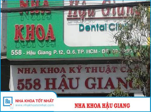 Nha Khoa Hậu Giang - 558 Hậu Giang, Phường 12 , Quận 6