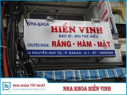 Nha khoa Hiển Vinh - 44 Nguyễn Huy Tự, Phường Đa Kao , Quận 1