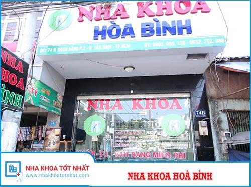 Nha khoa Hòa Bình - 134 Hòa Bình, Phường Hòa Thạnh, Tân Phú