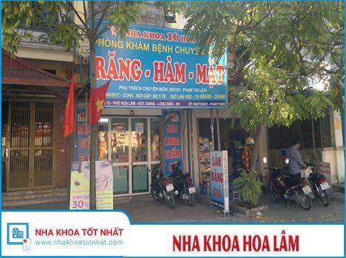 Nha khoa Hoa Lâm - 16 Phố Hoa Lâm, P. Đức Giang, Q. Long Biên