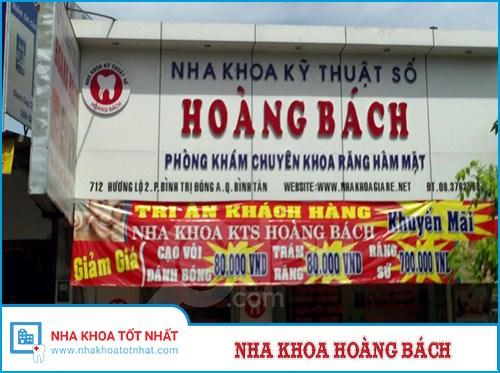 Nha Khoa Hoàng Bách - 712 Hương Lộ 2, P. Bình Trị Đông A , Bình Tân