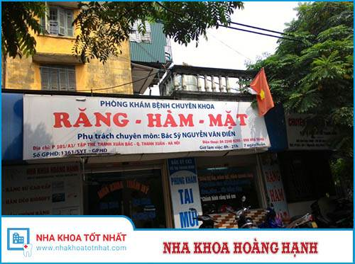 Nha khoa Hoàng Hạnh - P101/A1 Tập thể Thanh Xuân Bắc, P.Thanh Xuân Bắc