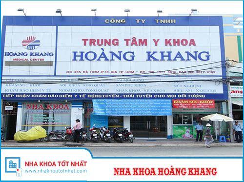 Nha khoa Hoàng Khang - 276 Cách Mạng Tháng Tám, Phường 10, Quận 3