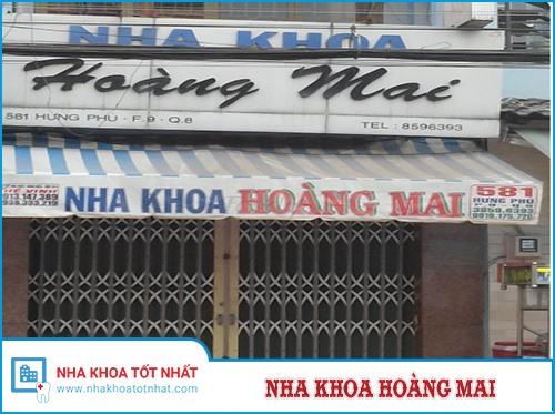 Nha khoa Hoàng Mai - 581 Hưng Phú, Phường 9 , Quận 8
