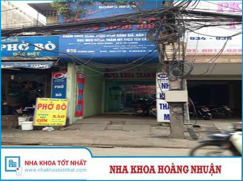 Nha khoa Hoàng Nhuận - 938 Trương Định, P. Giáp Bát , Q. Hoàng Mai