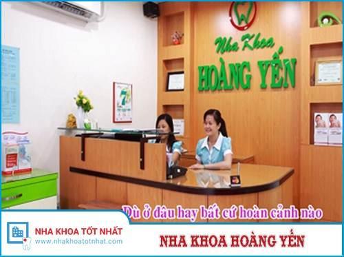 Nha khoa Hoàng Yến - 207 Nguyễn Trãi, P. Nguyễn Cư Trinh, Quận 1, TPHCM