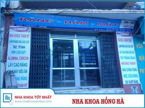 Nha Khoa Hồng Hà - 68 Trần Bình, P. Mỹ Đình 2, Q. Cầu Giấy