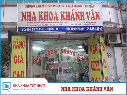 Nha khoa Khánh Vân - 101 Tô Hiệu, Nghĩa Tân, Cầu Giấy
