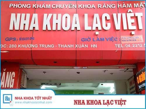 Nha Khoa Lạc Việt - 280 Khương Trung, Khương Đình, Thanh Xuân