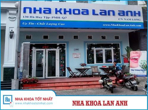 Nha khoa Lan Anh - 130 Hà Huy Tập, Nam Long 1, Phú Mỹ Hưng, Quận 7