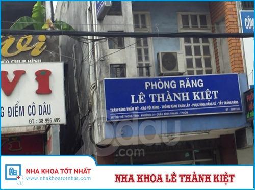 Nha khoa Lê Thành Kiệt - 357 Xô Viết Nghệ Tĩnh, P. 24, Q. Bình Thạnh