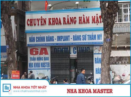 Nha Khoa Master - 6A Trần Hưng Đạo, P. Phan Chu Trinh, Q. Hoàn Kiếm