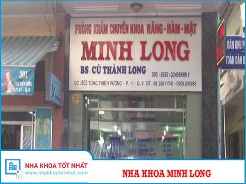 Nha Khoa Minh Long - 303 Tùng Thiện Vương, Phường 11, Quận 8
