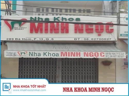 Nha khoa Minh Ngọc - 289 Bà Hom, Phường 13, Quận 6