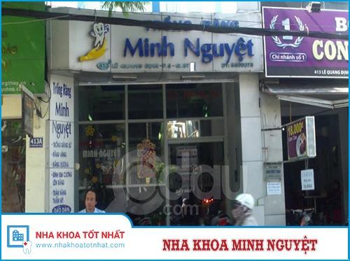 Nha Khoa Minh Nguyệt - 413B Lê Quang Định , P. 5, Q. Bình Thạnh