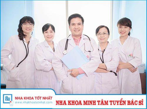 Nha Khoa Minh Tâm Tuyển Bác Sĩ Răng Hàm Mặt