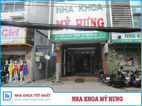 Nha Khoa Mỹ Hưng - 29 Trần Khắc Chân, Phường Tân Định, Quận 1