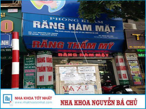 Nha khoa Nguyễn Bá Chủ - 147 Nguyễn Chí Thanh, P. Láng Hạ, Q. Đống Đa