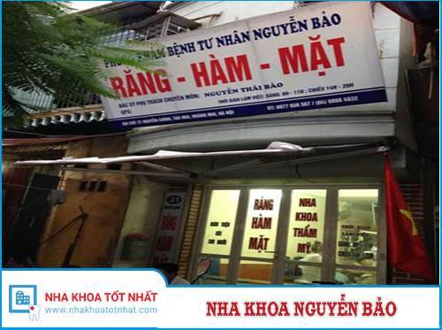 Nha khoa Nguyễn Bảo - 31 Nguyễn Chính, P. Tân Mai, Q. Hoàng Mai