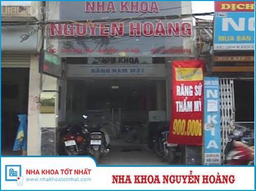Nha Khoa Nguyễn Hoàng - 204H, Đội Cấn, Ba Đình