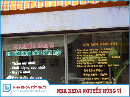 Nha khoa Nguyễn Hùng Vĩ - Công Đoàn Thanh Đa, Lô V, P. 27 ,Q. Bình Thạnh
