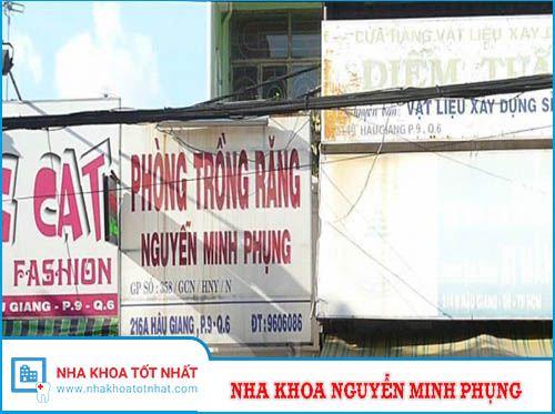 Nha khoa Nguyễn Minh Phụng - 216A Hậu Giang, Phường 9 , Quận 6